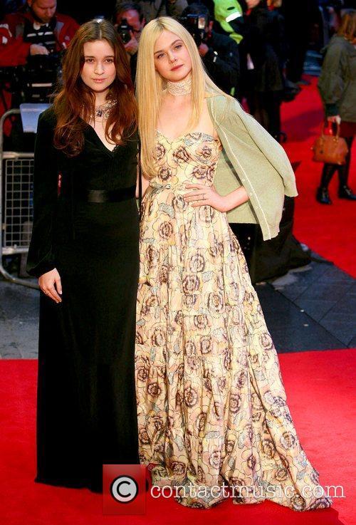 Alice Englert and Elle Fanning 7