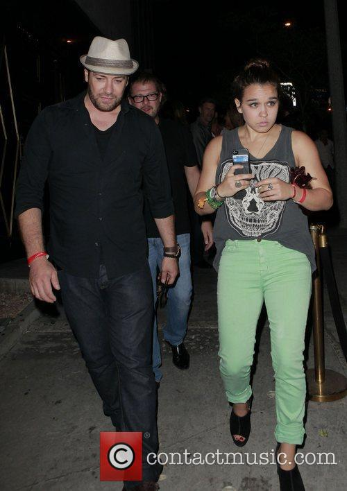 Arriving at Bootsy Bellows nightclub