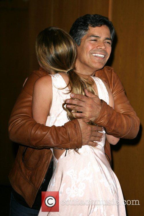 Esai Morales and Alexa Vega Los Angeles Special...