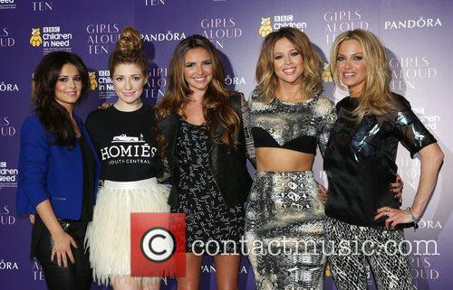 Cheryl Cole, Nicola Roberts, Nadine Coyle, Kimberley Walsh and Sarah Harding 7