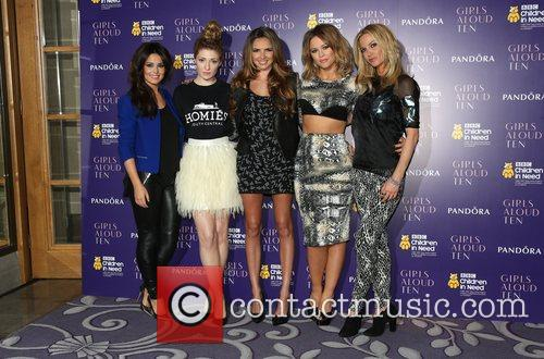 Cheryl Cole, Nicola Roberts, Nadine Coyle, Kimberley Walsh and Sarah Harding 8
