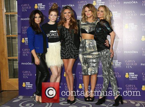Cheryl Cole, Nicola Roberts, Nadine Coyle, Kimberley Walsh and Sarah Harding 10