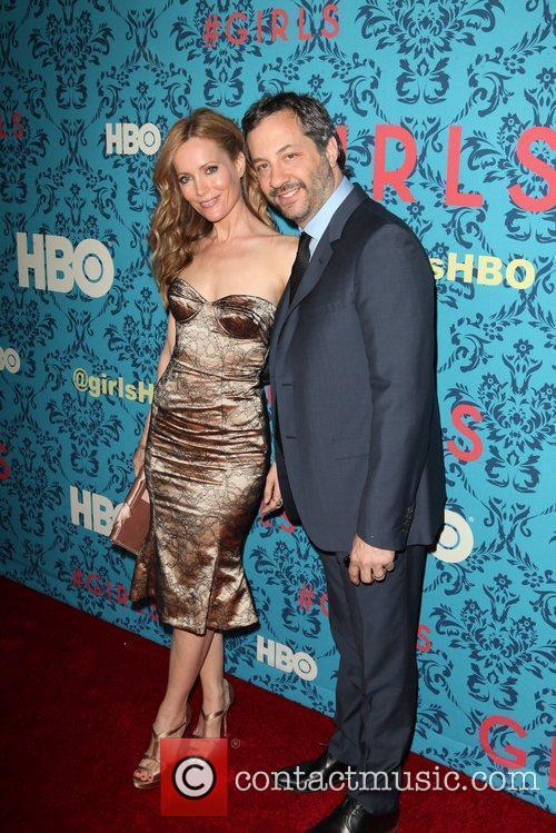Leslie Mann, Judd Apatow The New York Premiere...