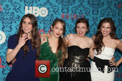 Zosia Mamet, Jemima Kirke, producer, Lena Dunham, Allison...