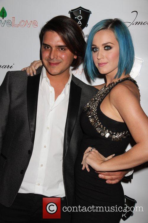 Katy Perry and J. Molinari jewelry designer Markus...
