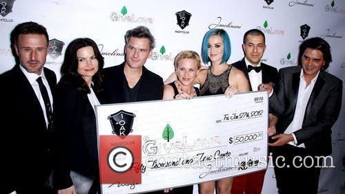 David Arquette, Balthazar Getty, Katy Perry and Patricia Arquette