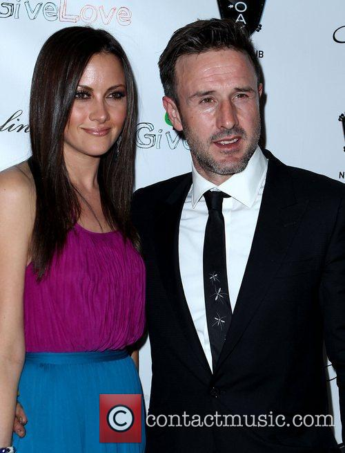 Christina Mclarty and David Arquette