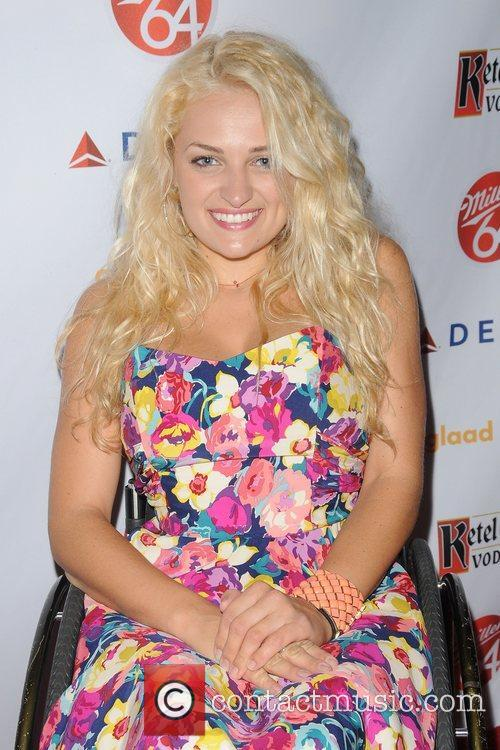Ali Stroker,  at the 2012 GLAAD Manhattan...