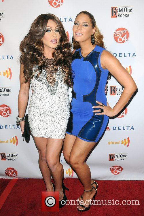 Carmen Carrera and Phi Phi O'Hara,  at...