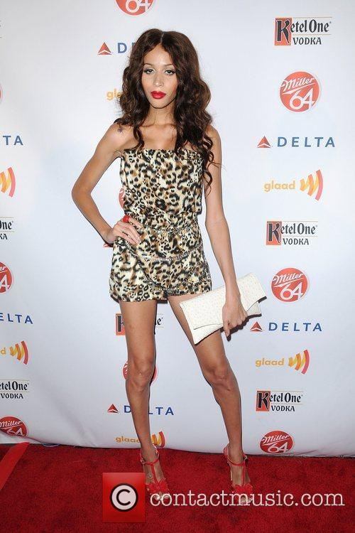 Isis King,  at the 2012 GLAAD Manhattan...