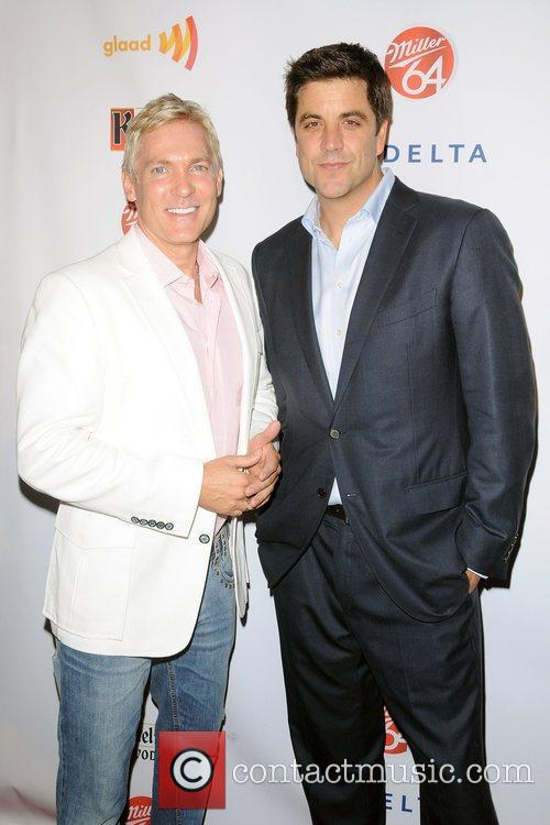 Sam Champion and Josh Elliot,  at the...