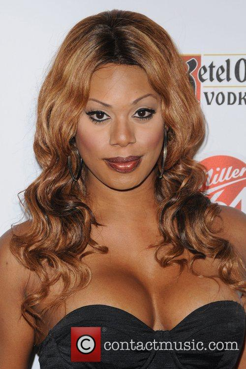 Laverne Cox,  at the 2012 GLAAD Manhattan...