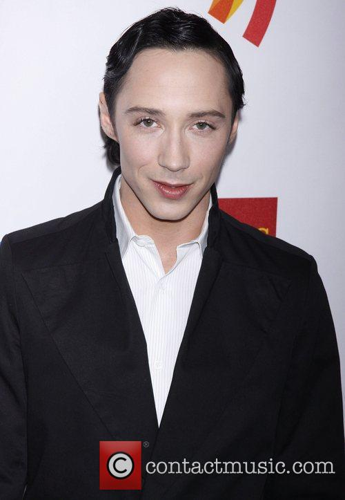 Johnny Weir  23rd Annual GLAAD Media Awards...