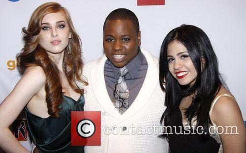 Marissa von Bleicken, Alex Newell and Emily Vasquez...