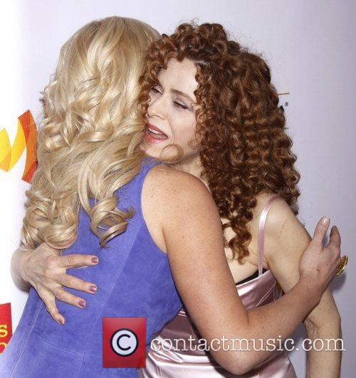 Megan Hilty and Bernadette Peters 1