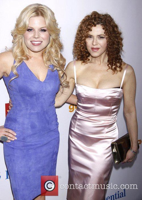 Megan Hilty and Bernadette Peters 5