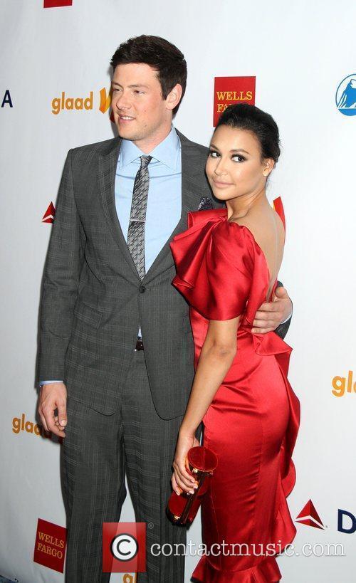 Cory Monteith and Naya Rivera 2