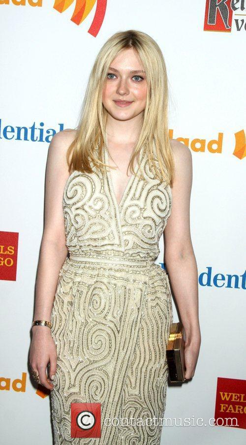 Dakota Fanning 23rd Annual GLAAD Media Awards at...