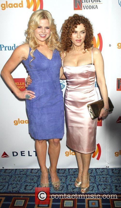 Megan Hilty, Bernadette Peters 23rd Annual GLAAD Media...