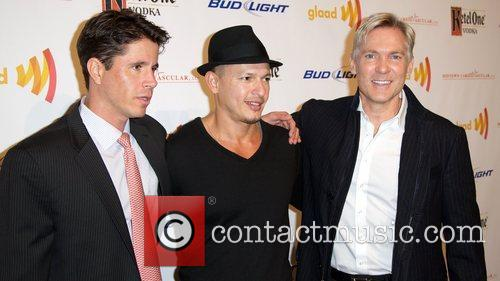 Herndon Graddick, Rubem Robierb and Sam Champion GLAAD...