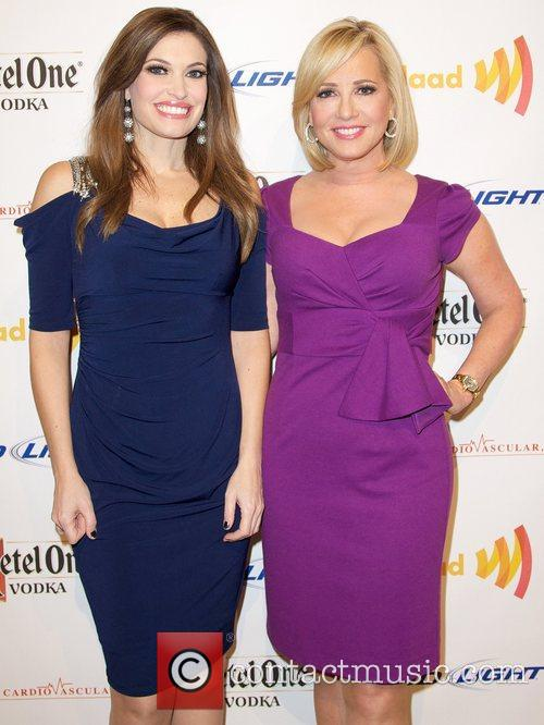 Kimberly Guilfoyle and Jamie Colby GLAAD Art Auction,...