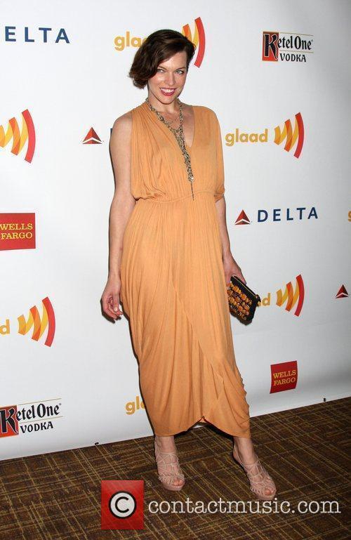 Milla Jovovich The 23rd Annual GLAAD Media Awards...