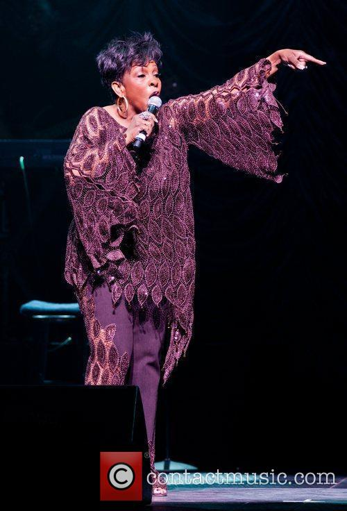 Gladys Knight  performing live in concert at...
