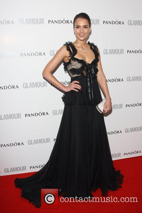 Jessica Alba and Glamour Women Of The Year Awards 2