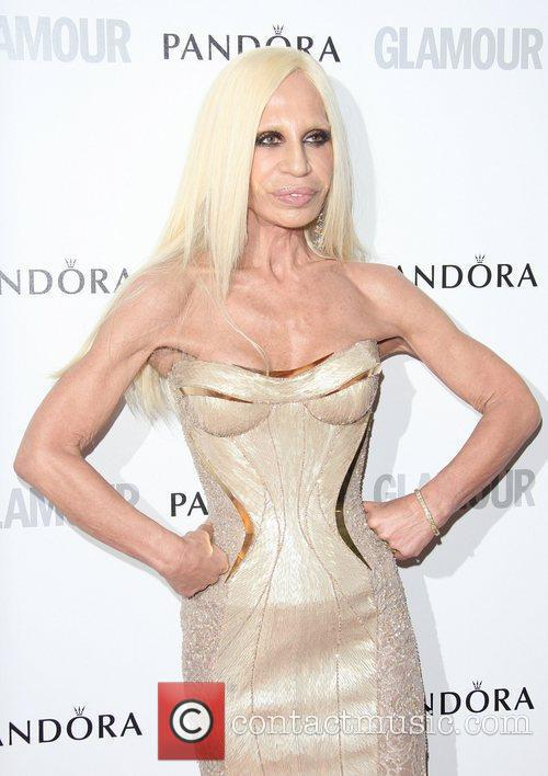 Donatella Versace and Louise Delamere 4