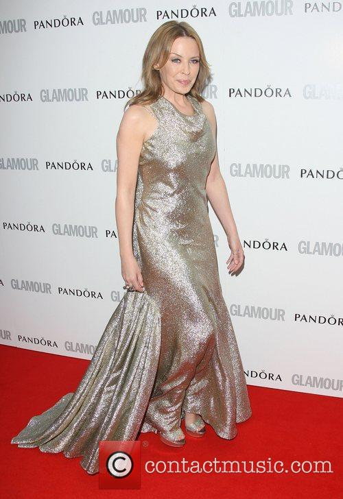 Kylie Minogue and Glamour Women Of The Year Awards 2