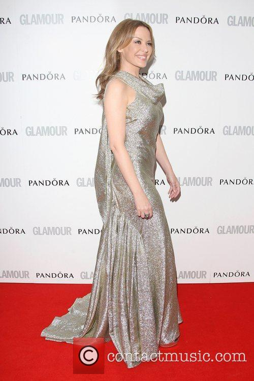 Kylie Minogue and Glamour Women Of The Year Awards 3