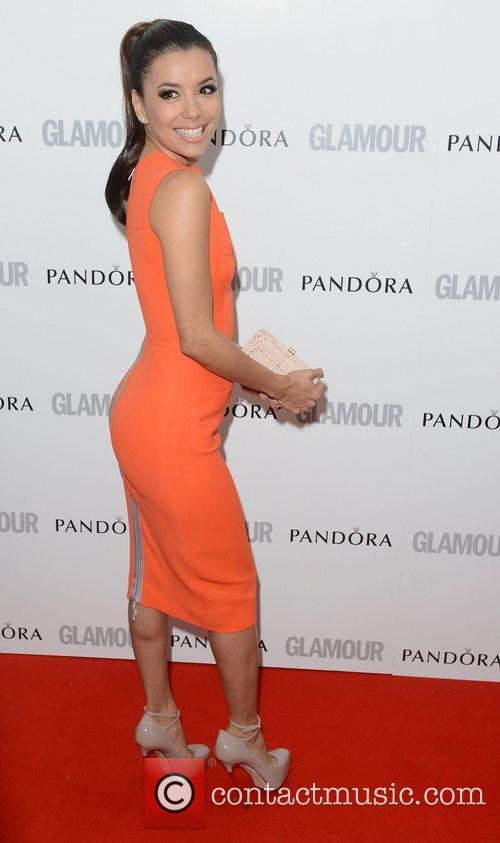 Eva Longoria at The Glamour Women of the...