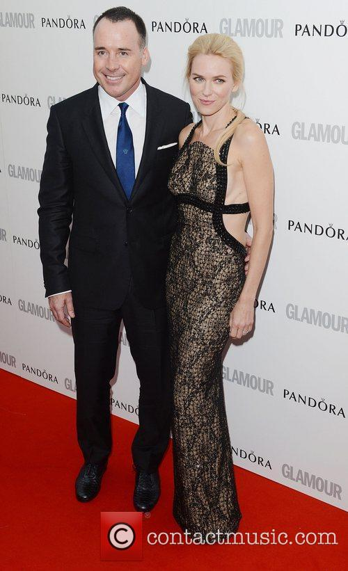 Naomi Watts, David Furnish and Glamour Women Of The Year Awards 2