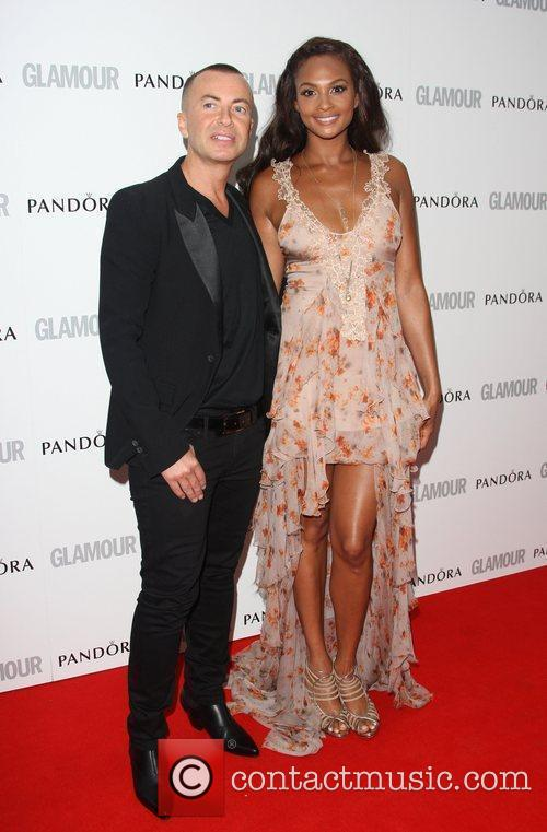 Alesha Dixon and Julien MacDonald The Glamour Women...