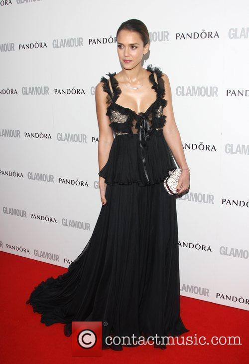 Jessica Alba and Glamour Women Of The Year Awards 7