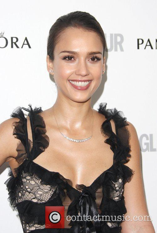 Jessica Alba and Glamour Women Of The Year Awards 1