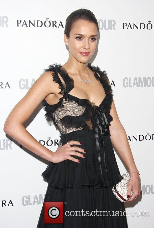 Jessica Alba and Glamour Women Of The Year Awards 9