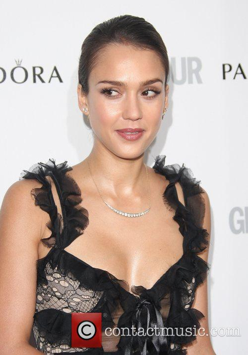 Jessica Alba and Glamour Women Of The Year Awards 10