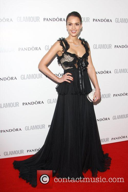Jessica Alba and Glamour Women Of The Year Awards 11