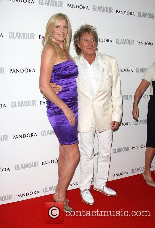 Penny Lancaster and Rod Stewart The Glamour Women...