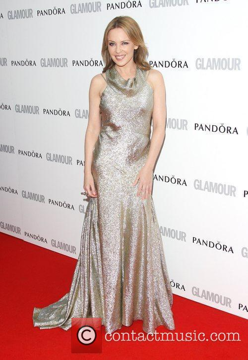 Kylie Minogue and Glamour Women Of The Year Awards 1
