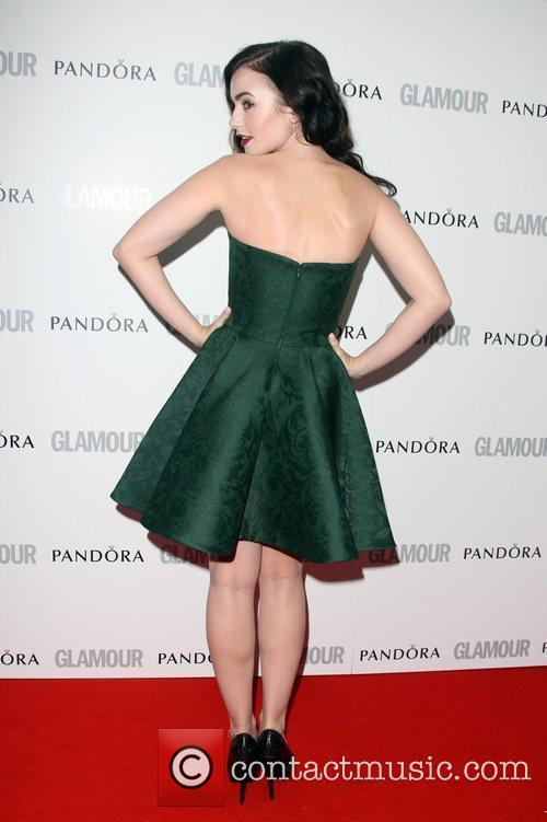 Lily Collins and Glamour Women Of The Year Awards 10
