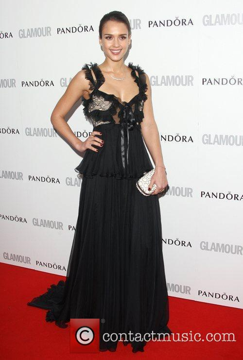 Jessica Alba and Glamour Women Of The Year Awards 3
