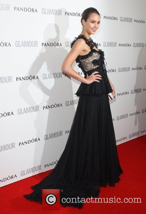 Jessica Alba and Glamour Women Of The Year Awards 5