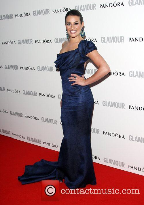 Lea Michele and Glamour Women Of The Year Awards 2