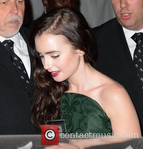Lily Collins and Glamour Women Of The Year Awards 3
