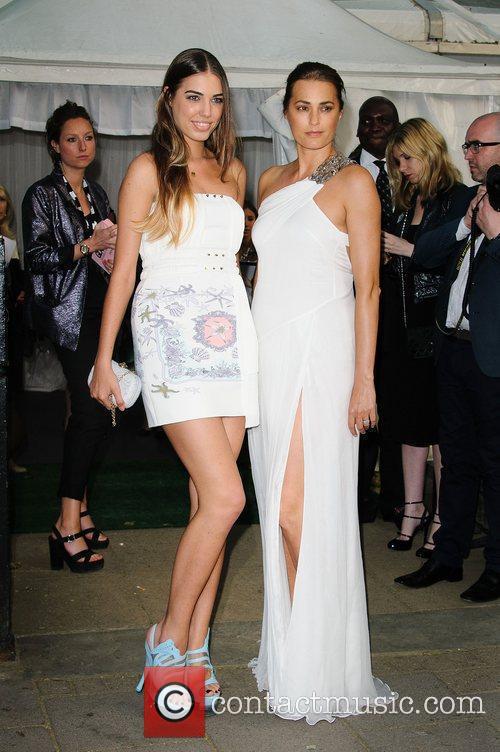 Amber Le Bon and Yasmin Le Bon 1