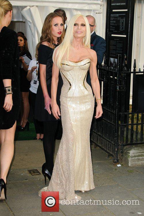 Versace and Donatella Versace 2