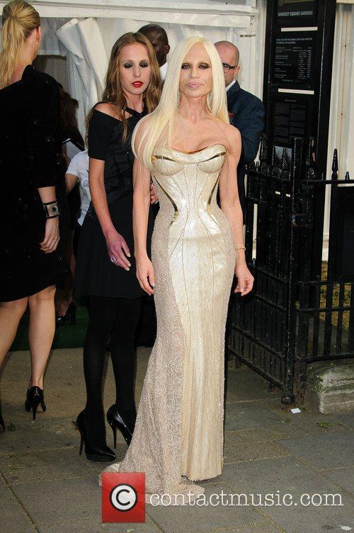 Versace and Donatella Versace 3
