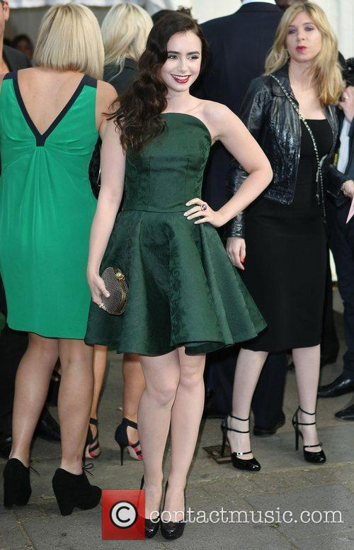 Lily Collins and Glamour Women Of The Year Awards 2
